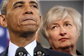 Janet Yellen Silver Haired Female Warrior