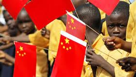 african kids and china