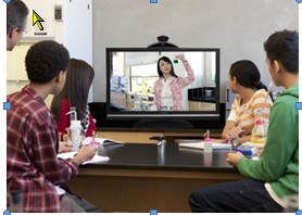 How can schools benefit from using video conferencing?