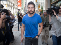 Shia LaBeouf After Court