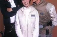Star Wars - Mark Hamill (Luke Skywalker), Carrie Fisher (Princess Leia), Harrison Ford (Han Solo)