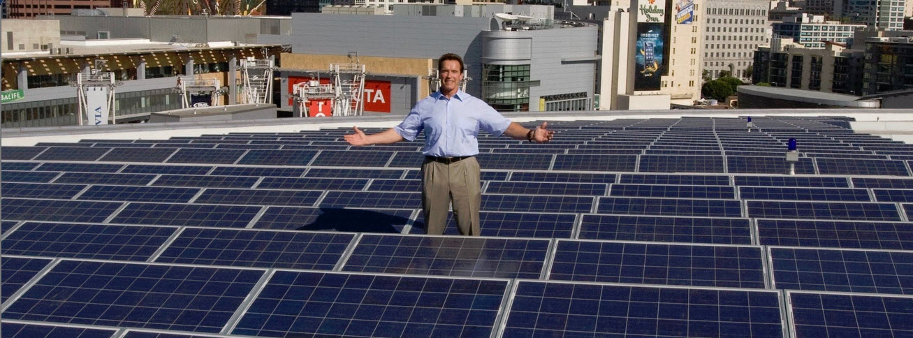 Arnold Schwarzenegger doesn't give a **** if we agree about climate change.