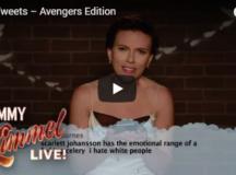 Jimmy Kimmel Live: Celebrities Mean Tweets – Avengers Edition