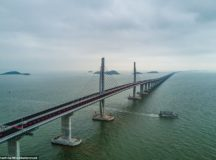 World's Longest Sea Bridge is Opens