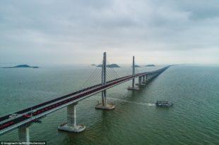 World's Longest Sea Bridge is Opens