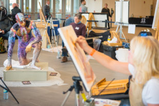Art At The Arnold – The Ultimate Artist Workout