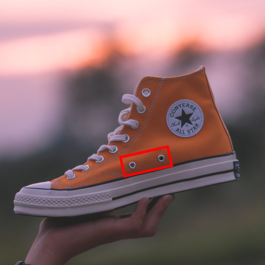 The Holes in Converse All-Stars