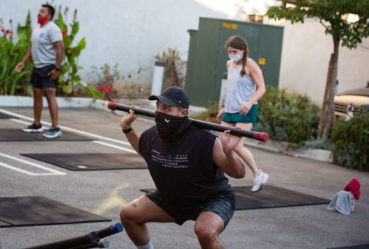 Gyms Go 'Al Fresco' During Pandemic