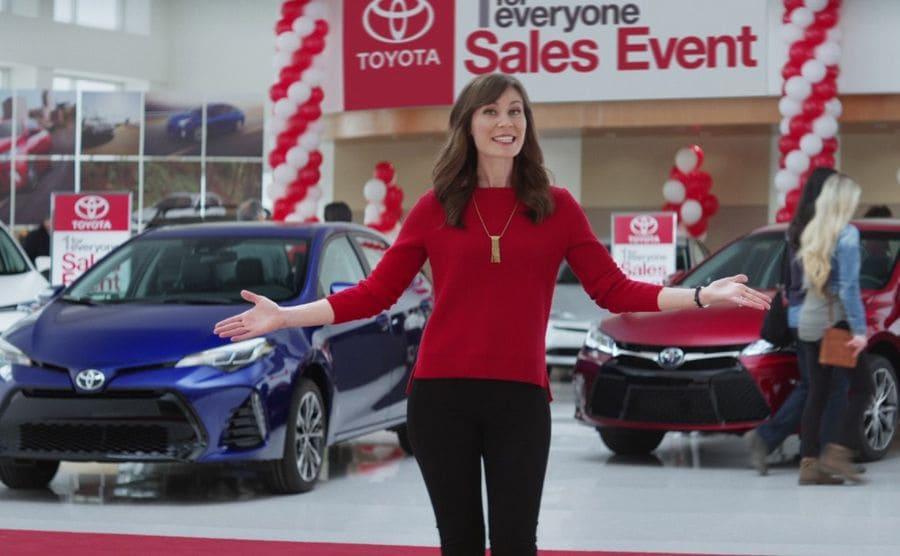 Laurel Coppock: Toyota