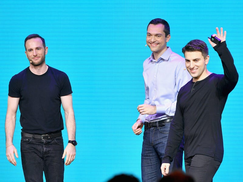 Still, Chesky and the other two Airbnb founders are all billionaires.