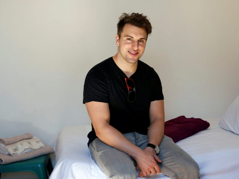 Despite being worth $3.1 billion, the Airbnb cofounder has maintained a relatively modest lifestyle.