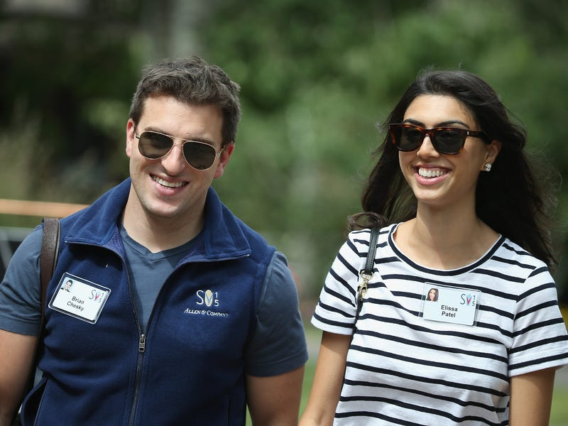 Chesky told Fortune in 2015 that the couple does yoga together every Thursday morning