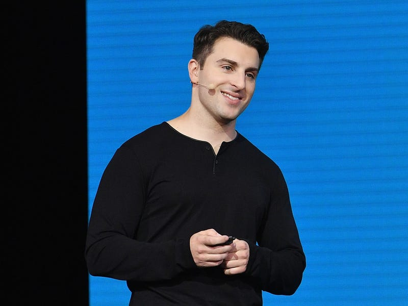 In 2016, Chesky signed the Giving Pledge promising to donate the majority of his fortune to charity over the course of his lifetime.