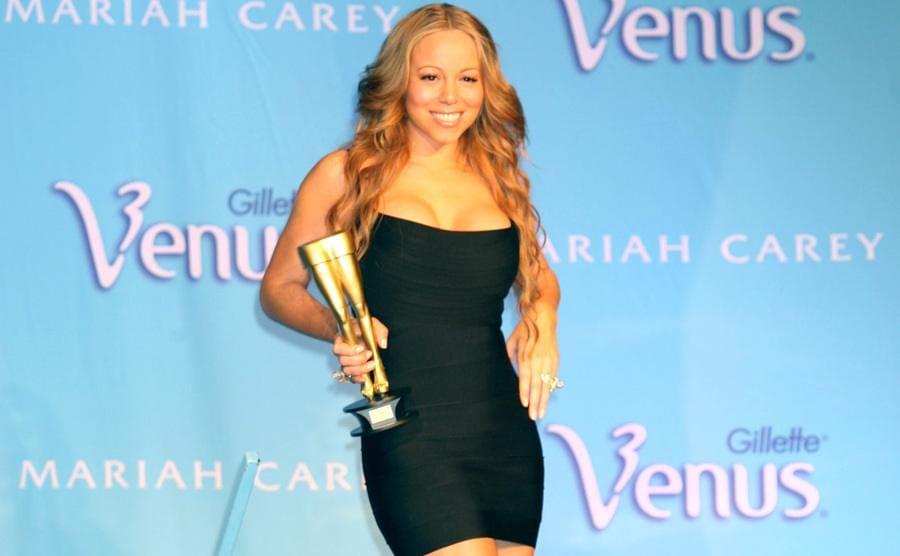 Mariah Carey Gillette