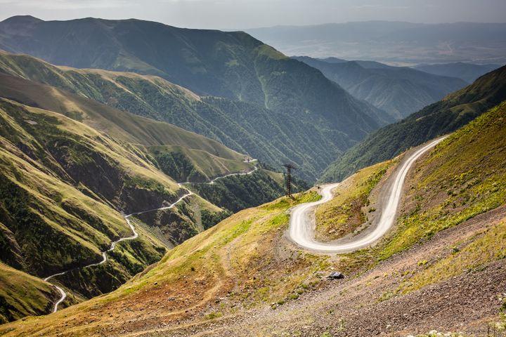 The Caucasus Road, Georgia
