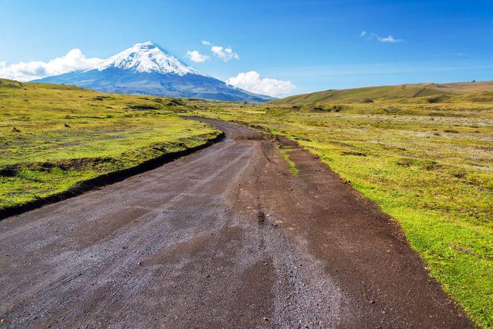 The Cotopaxi Volcano Road, Ecuador