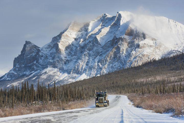 The James Dalton Highway, Alaska