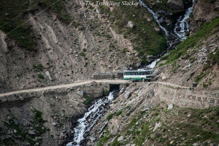The Killar-Pangi Road, India