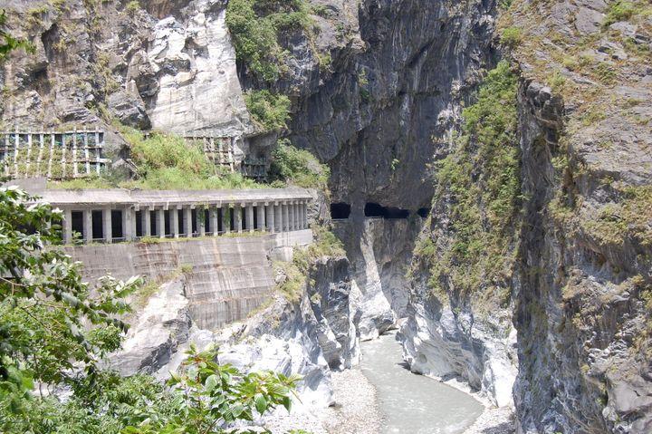 The Taroko Gorge Road, Taiwan