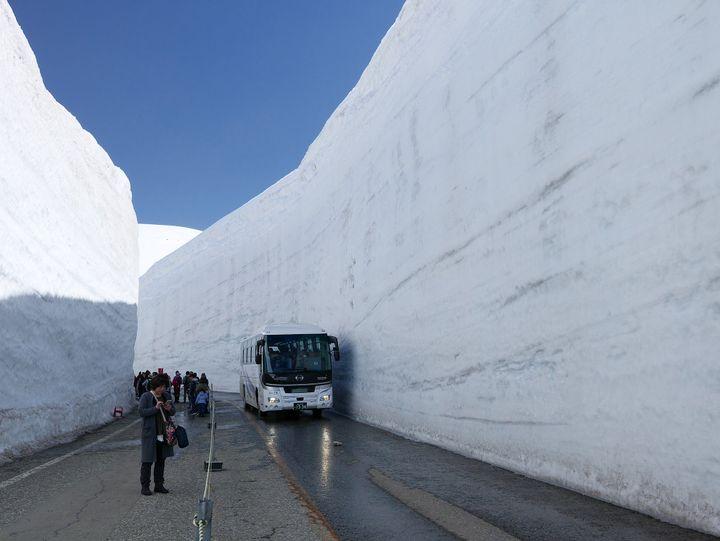 The Tateyama Kurobe Alpine Route, Japan