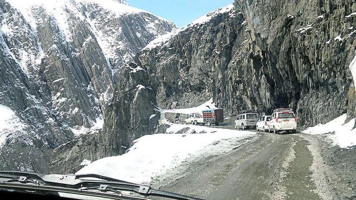 The Zoji La Pass, India