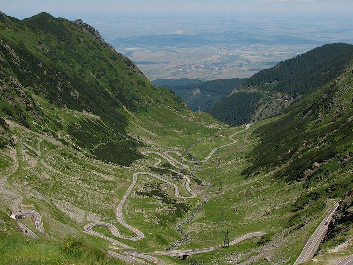 Transfăgărășan, DN7C, Romania