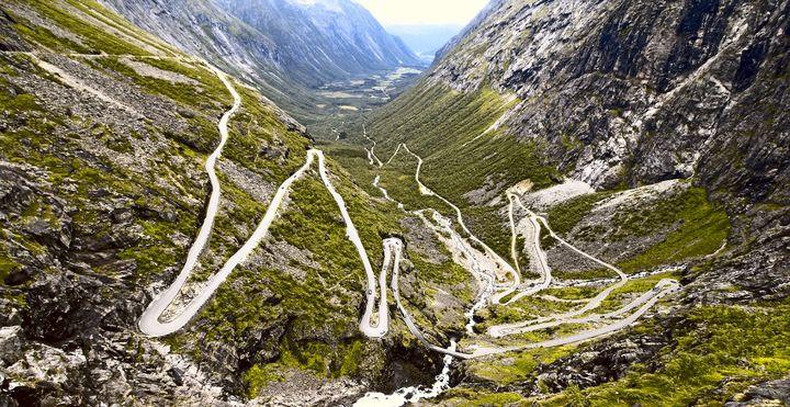 Trollstigen Mountain Road, Norway
