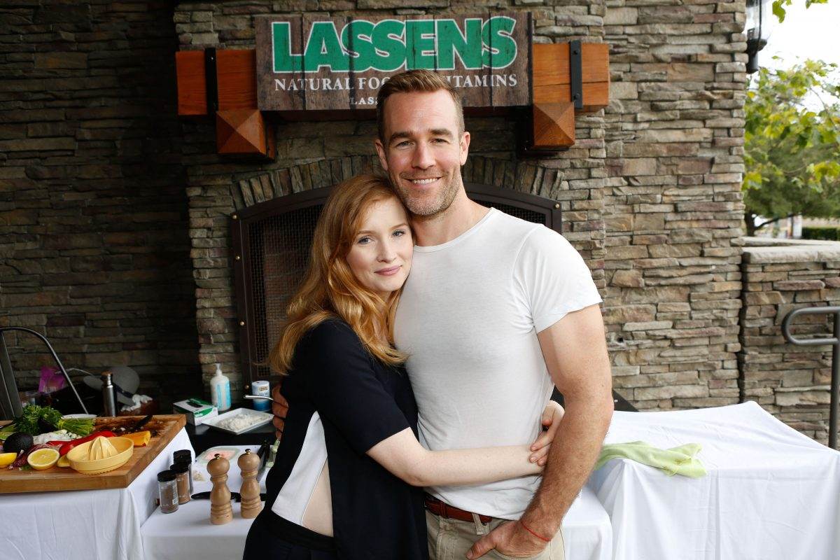 James and Kimberly Van Der Beek | Tiffany Rose/Getty Images for Caruso Affiliated