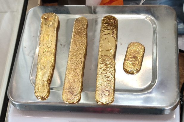 Passenger Caught Smuggling $60,000 in Gold in Rectum