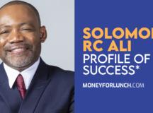 Profiles of Success Solomon RC Ali