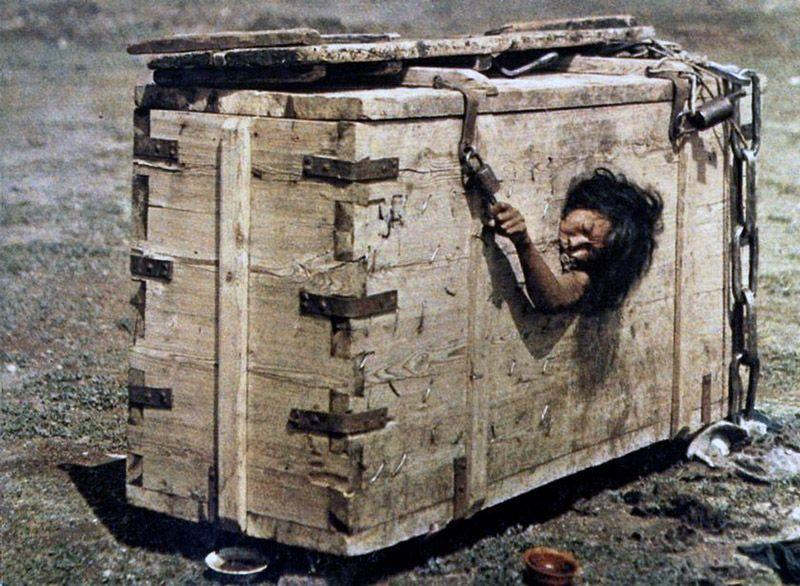 Criminals could be locked up in a wooden box in Mongolia