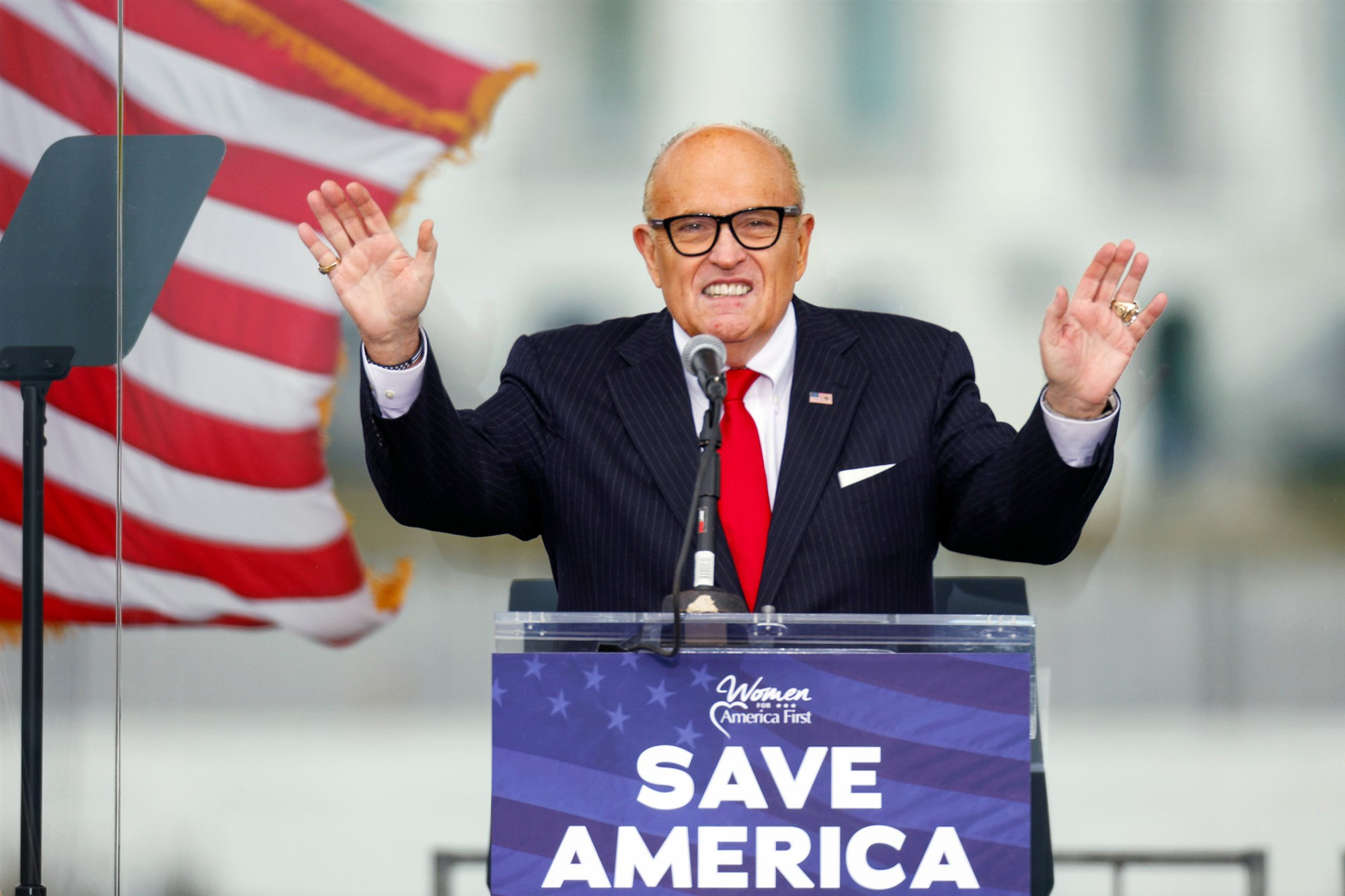 New York State Bar Moves to Disbar Rudy Giuliani