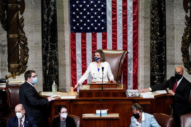 $1.9 trillion COVID relief package approved by the House.