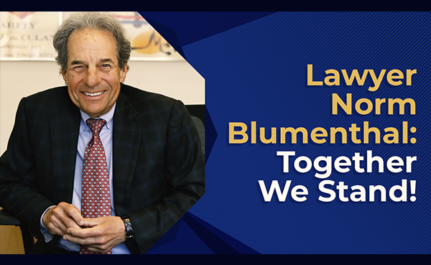 Lawyer Norm Blumenthal: Together We Stand!